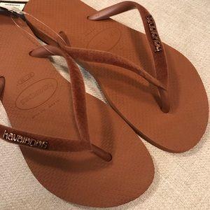 Women's havaianas flip flops US size 7